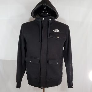 The North face hooded jacket size Medium